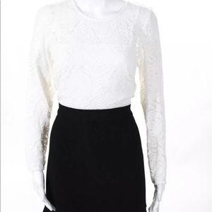 Nanette Lepore Black /White Dress 14